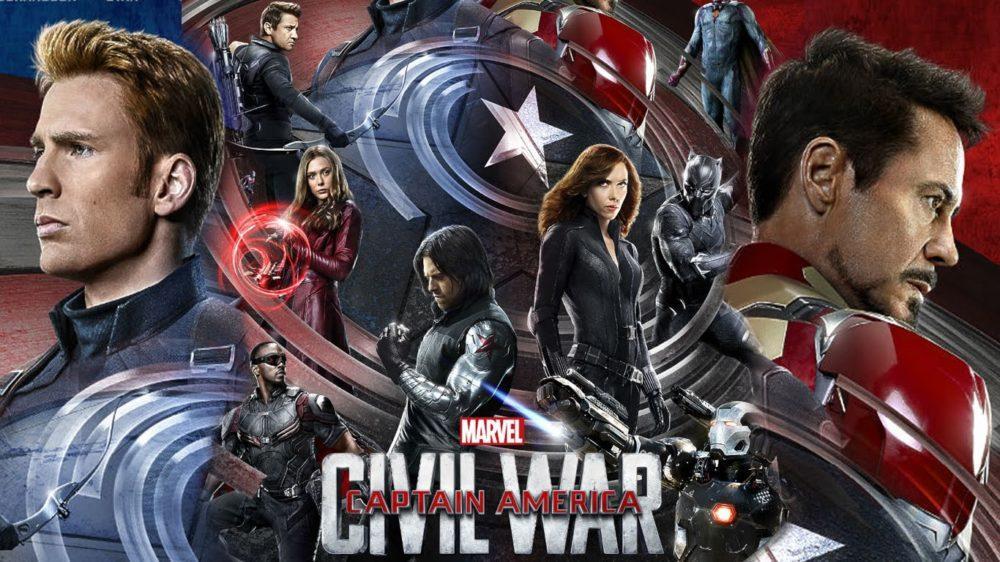 Kapitan Ameryka - Wojna Bohaterów