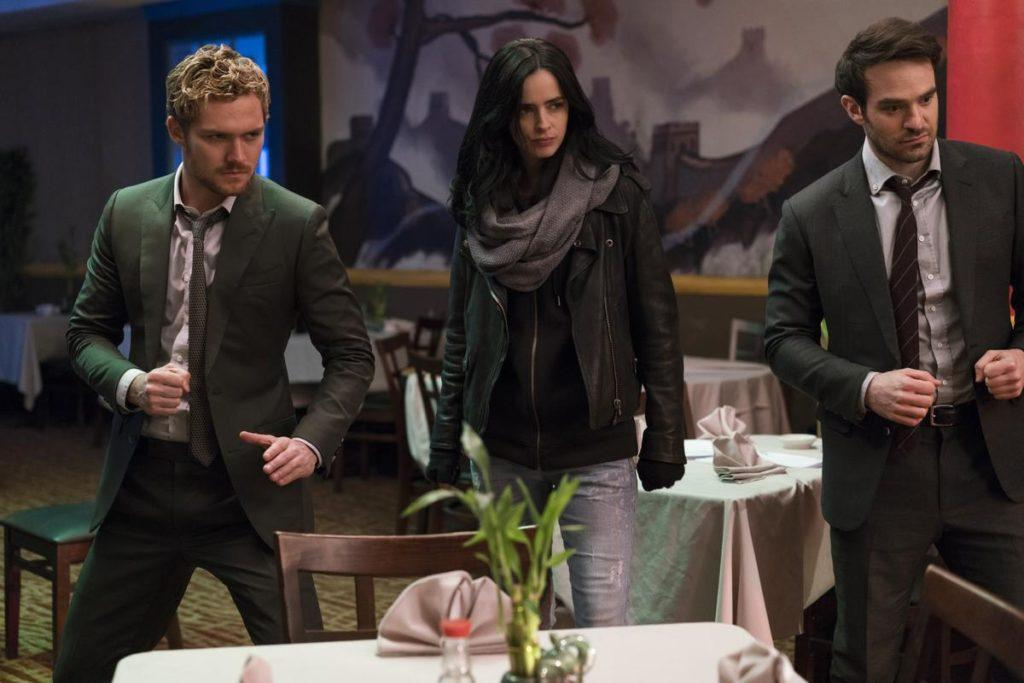 The Defenders - Iron Fist, Jessica Jones, Daredevil